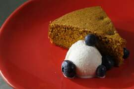 Savory Spice Cake With Tumeric, Star Anise & Coriander. Food styled by Rochelle Vurek.