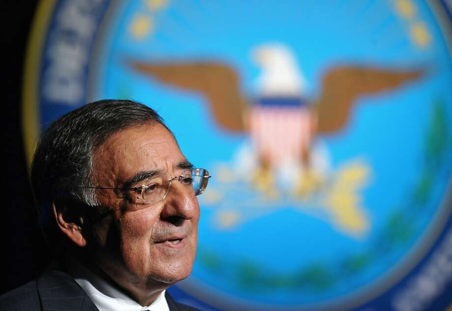 US Secretary of Defense Leon Panetta speaks during his ceremonial swearing-in on July 22, 2011 at the Pentagon auditorium in Washington, DC. Photo: Mandel Ngan, AFP/Getty Images