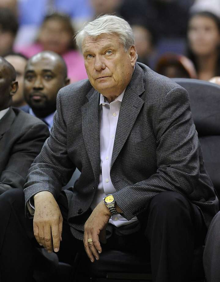 FILE  -  In this April 6, 2010 file photo, Golden State Warriors coach Don Nelson watches from the bench during the second half of an NBA basketball game against the Washington Wizards in Washington. Nelson is expected to part ways with the Warriors on Monday, an NBA source tells The Associated Press. Photo: Nick Wass, AP