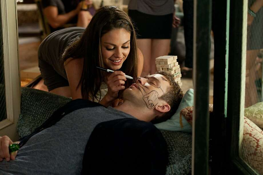 "Mila Kunis as ""Jamie"" and Justin Timberlake as ""Dylan"" in Screen Gems' FRIENDS WITH BENEFITS. Photo: Glen Wilson, Sony Pictures"