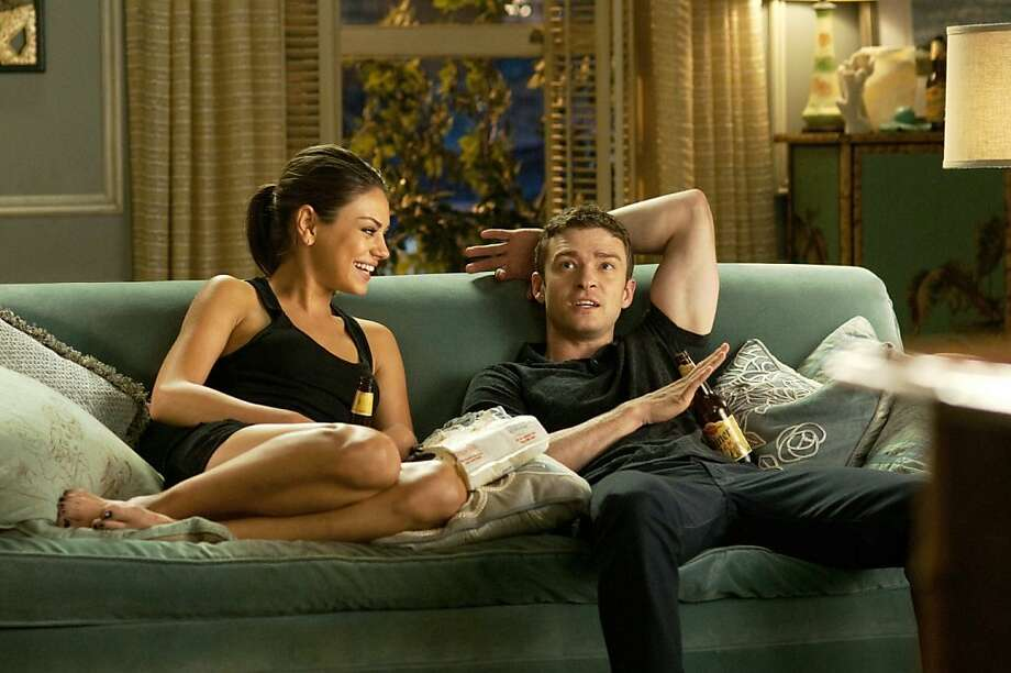 "Justin Timberlake and Mila Kunis in ""Friends With Benefits."" Photo: Sony Pictures"