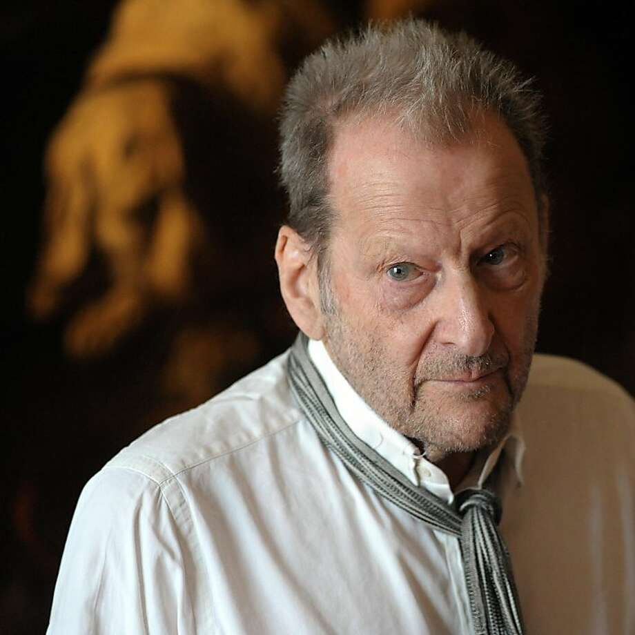 (FILES): This July 4, 2010 file photo shows British painter Lucien Freud during a visit at the Fesch museum in Ajaccio, on the the French Mediterranean island of Corsica. Freud, 88, a grandson of Sigmund Freud, died on July 20, 2011 in New York City following a brief illness, it was announced July 21, 2011. Photo: Stephan Agostini, AFP/Getty Images