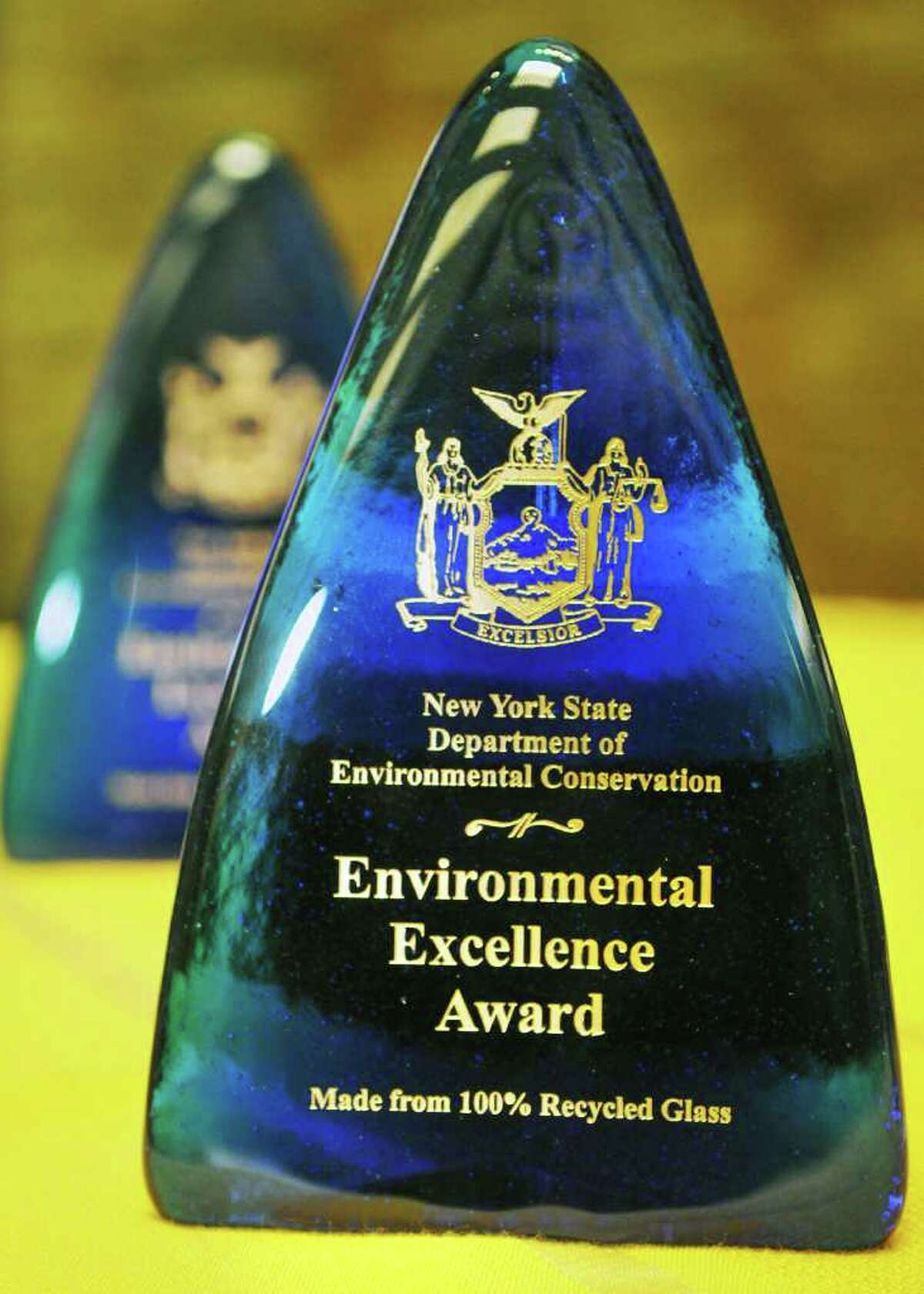Awards at the New York State Department of Environmental Conservation's 8th Annual New York State Environmental Excellence Awards ceremony at the Capitol Tuesday Dec. 6, 2011. (John Carl D'Annibale / Times Union)