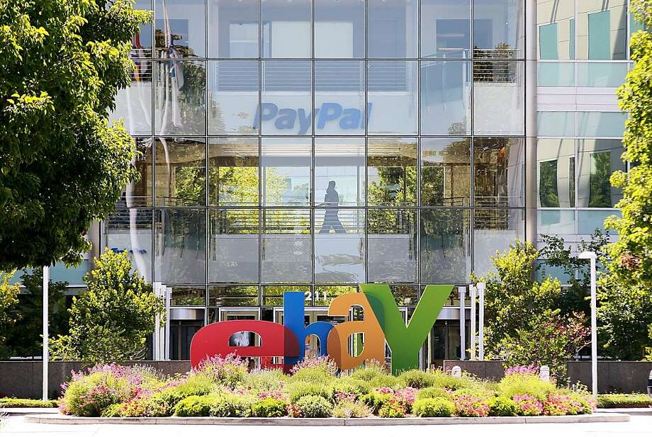 SAN JOSE, CA - JULY 20:  A sign is posted in front of eBay headquarters on July 20, 2011 in San Jose, California. Online auction site eBay will report quarterly earnings today after the market closes today. Photo: Justin Sullivan, Getty Images