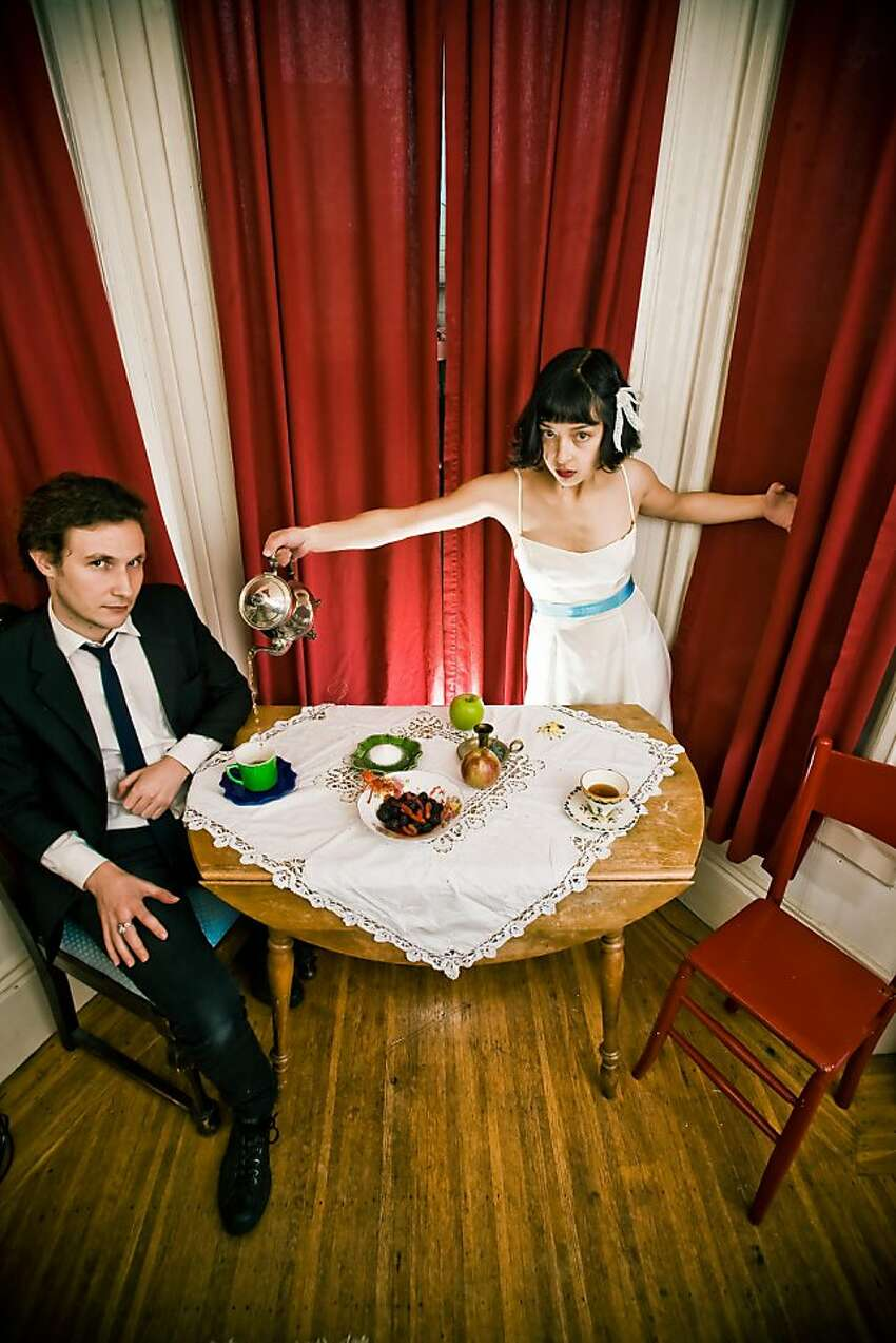 Anton Patzner and Laura Weinbach of the Foxtails Brigade.