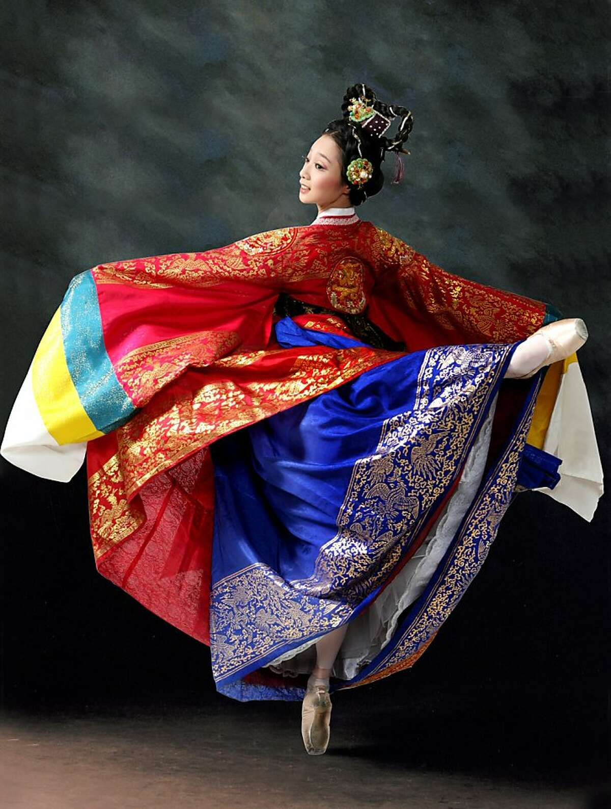The Universal Ballet of Korean will present Shim Chung (The Blindman's Daughter) Friday and Sunday at the War Memorial Opera House. The Korean folk tale comes alive with an international cast of 71dancers from Korea, China, Russia, the United States and Japan. The tale is about the devoted daughter of a blind man who, when learning that that a donation of 300 bags of rice to the local temple will allow her father to regain his sight, willingly sells herself to the captain of a ship as a sacrifice to protect his vessel from the wrath of the Sea Dragon King. Tickets are available at the cityboxoffice.com