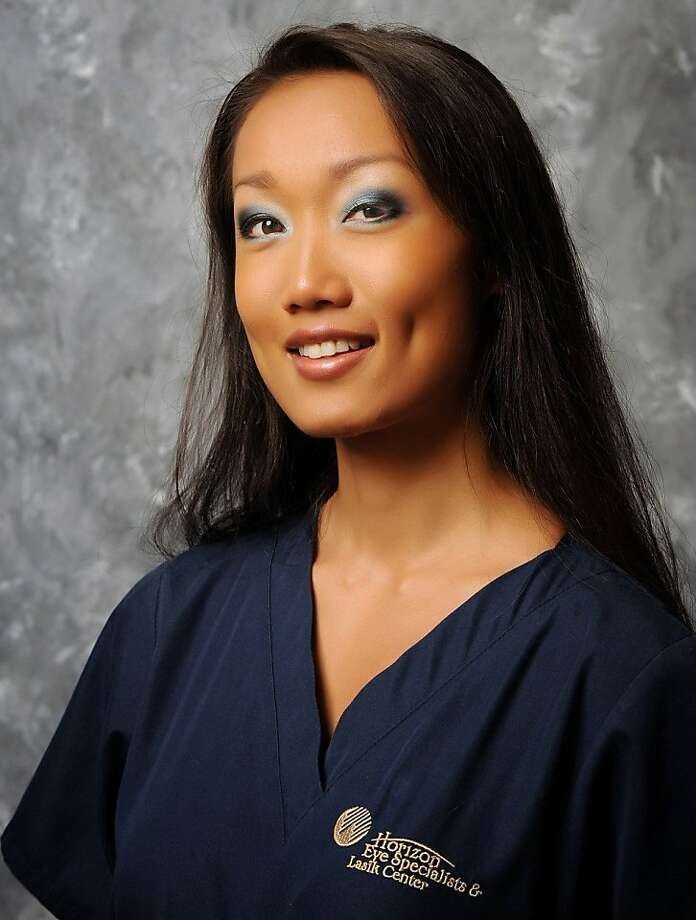 This August 2008 photo released by Horizon Eye Specialists & Lasik Center shows Rebecca Zahau, also known as Rebecca Nalepa, 32. Nalepa, the girlfriend of Arizona pharmaceuticals tycoon Jonah Shacknai, was found dead last week hanging nude from the second-floor balcony of a historic mansion, her wrists and ankles bound. (AP Photo/Horizon Eye Specialists & Lasik Center, Dwight Smith) MANDATORY CREDIT Photo: Dwight Smith, AP