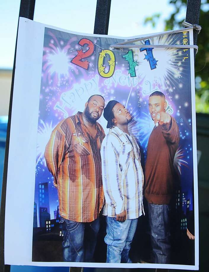 This is a copy shot of  Jabari Banford (center) who was killed in East Palo Alto on July 19, 2011. Photo: Special To The Chronicle