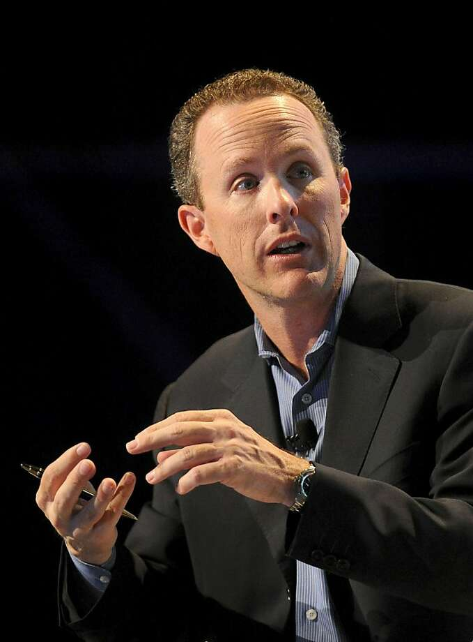 Michael Grimes, managing director of global technology for Morgan Stanley, speaks at the TechCrunch Disrupt conference in San Francisco, California, U.S., on Tuesday, Sept. 28, 2010. The conference runs until Sept. 29. Photographer: Noah Berger/Bloomberg*** Local Caption *** Michael Grimes Photo: Noah Berger, Bloomberg