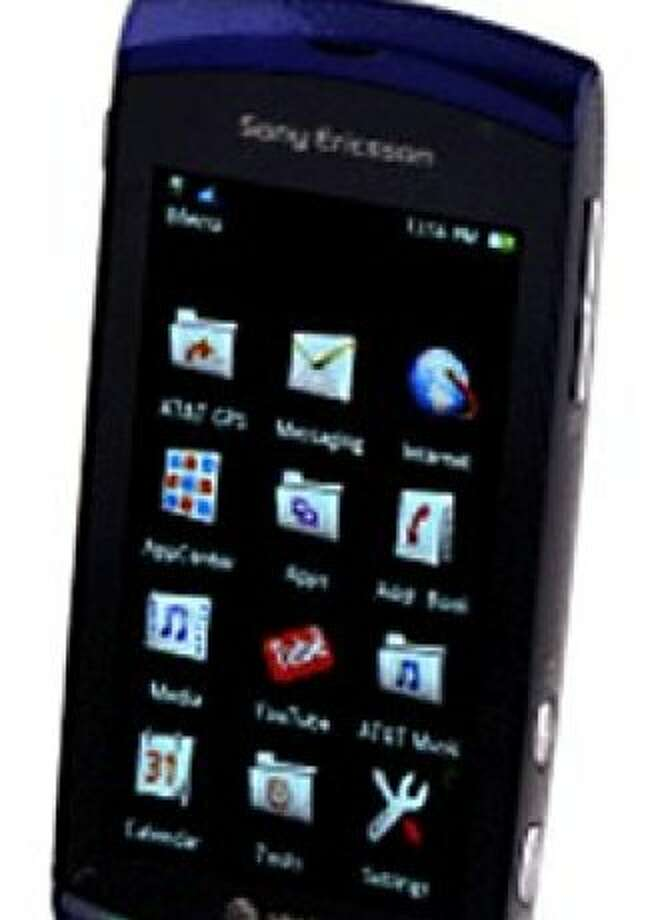 Sony Ericsson Vivaz (AT&T) - cosmic black Photo: Cnet Review