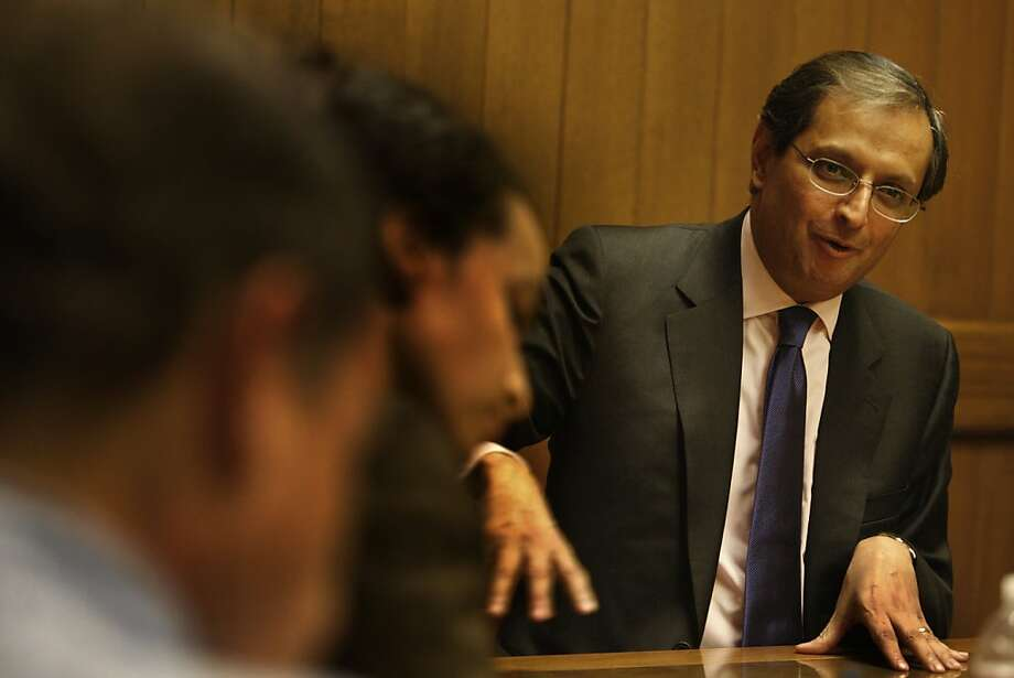 Vikram Pandit, CEO of Citigroup, is seen in San Francisco, Calif. on Thursday October 28, 2009. Photo: Lea Suzuki, The Chronicle