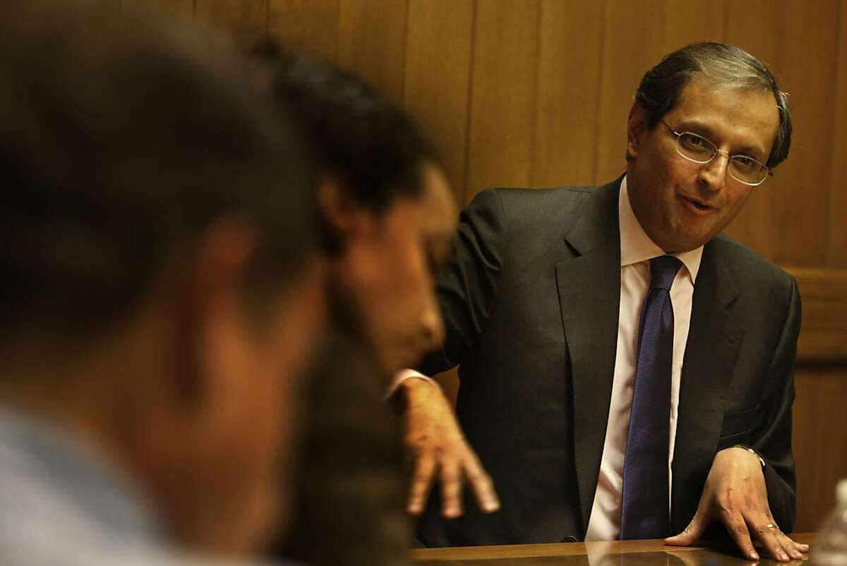 Vikram Pandit, CEO of Citigroup, is seen in San Francisco, Calif. on Thursday October 28, 2009.