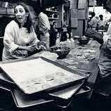 Joyce Goldstein making ravioli in the Square One kitchen in 1985.   Food#Food#Broadsheet#07/17/2011#ALL#Advance2##422024224