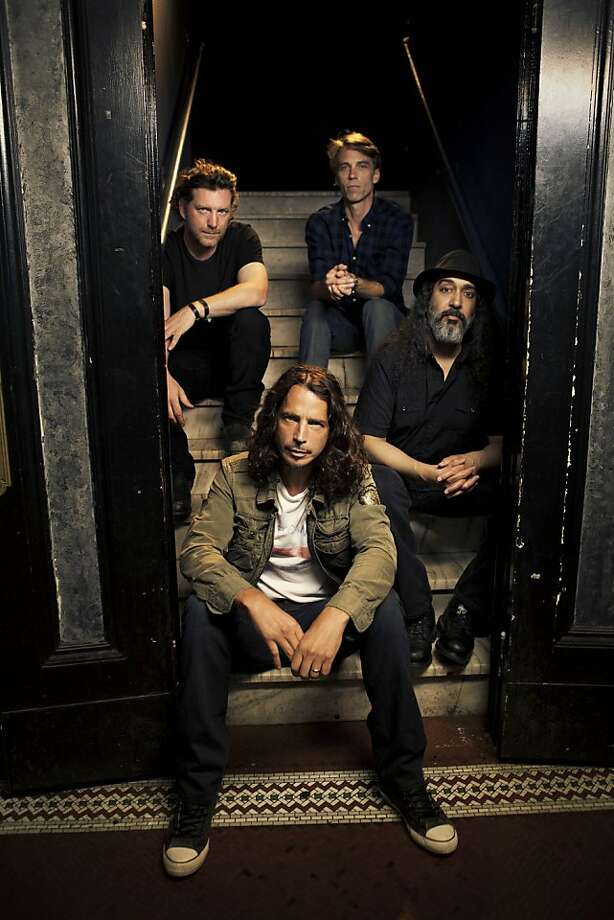 Chris Cornell (center) and Soundgarden. Photo: Press Here