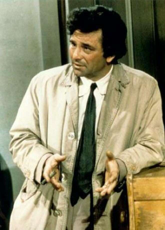 Peter Falk as Columbo, 1973. Photo: Universal TV