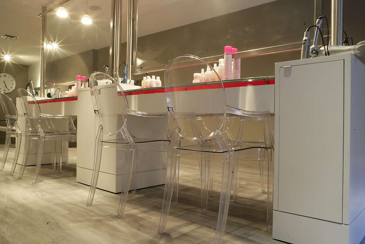 Blo, a blow-dry bar on Union Street, offers blow drys only -- no cuts or color -- as part of a new niche in the beauty business. The company is British Columbia based and opened in spring 2010.