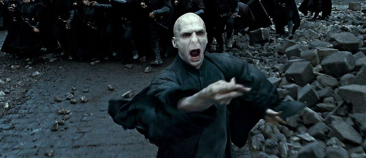 RALPH FIENNES as Lord Voldemort in Warner Bros. Pictures?• fantasy adventure ?'HARRY POTTER AND THE DEATHLY HALLOWS Ð PART 2,?