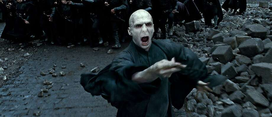 RALPH FIENNES as Lord Voldemort in Warner Bros. PicturesÕ fantasy adventure ÒHARRY POTTER AND THE DEATHLY HALLOWS Ð PART 2,Ó a Warner Bros. Pictures release. Photo: Courtesy Of Warner Bros Pictures