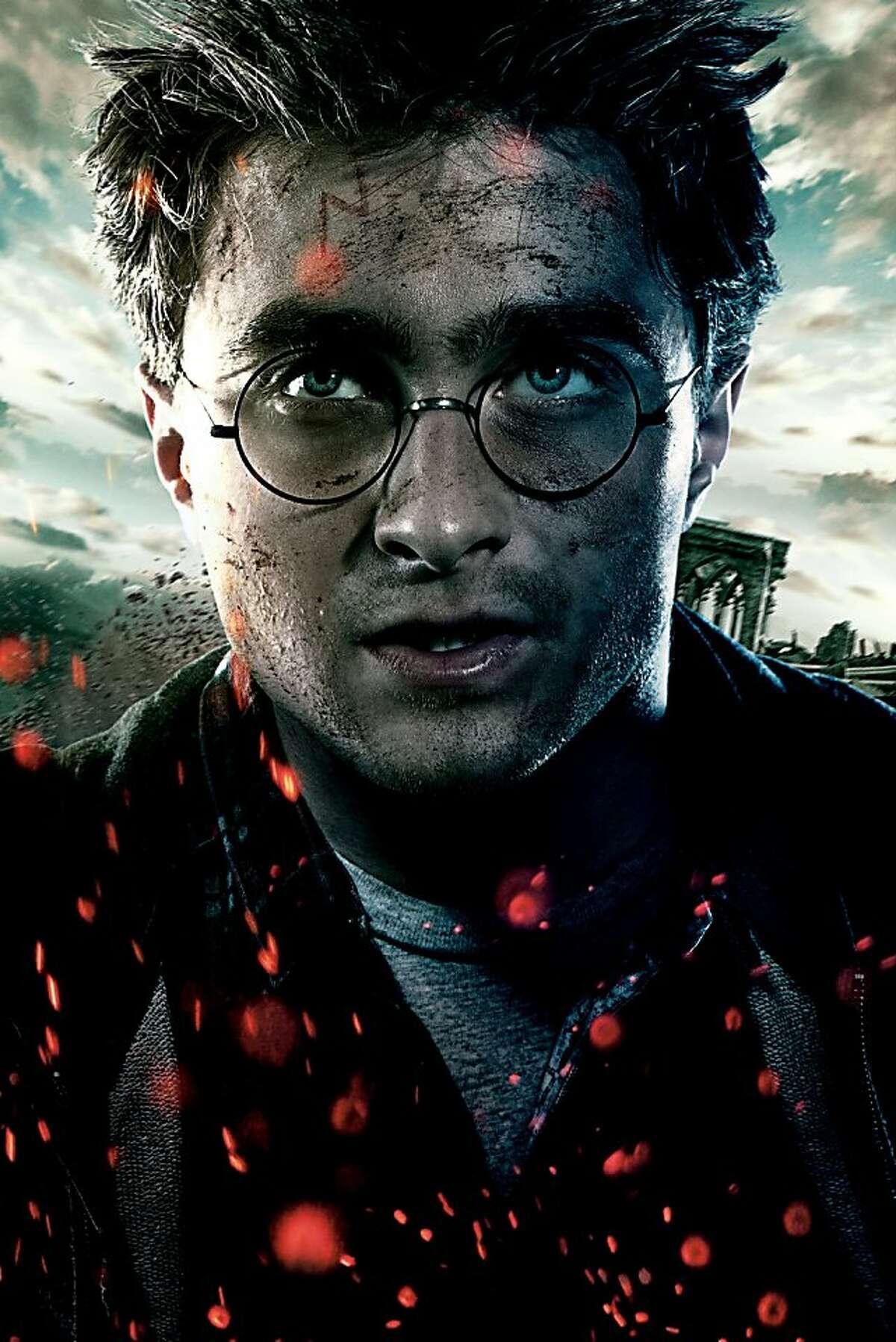 DANIEL RADCLIFFE as Harry Potter in Warner Bros. Pictures fantasy adventure.