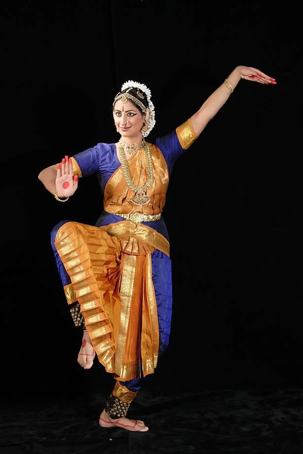 Rasika Kumar of Abhinaya Dance Company of San Jose appears in Courage, a solo performance of Bharatyanatyam dance Sunday, July 17, at 4 pm at McAfee Theater in Saratoga to benefit Japanese tsunami relief. Photo: Viggy Mokkarala. Photo: Viggy Mokkarala.