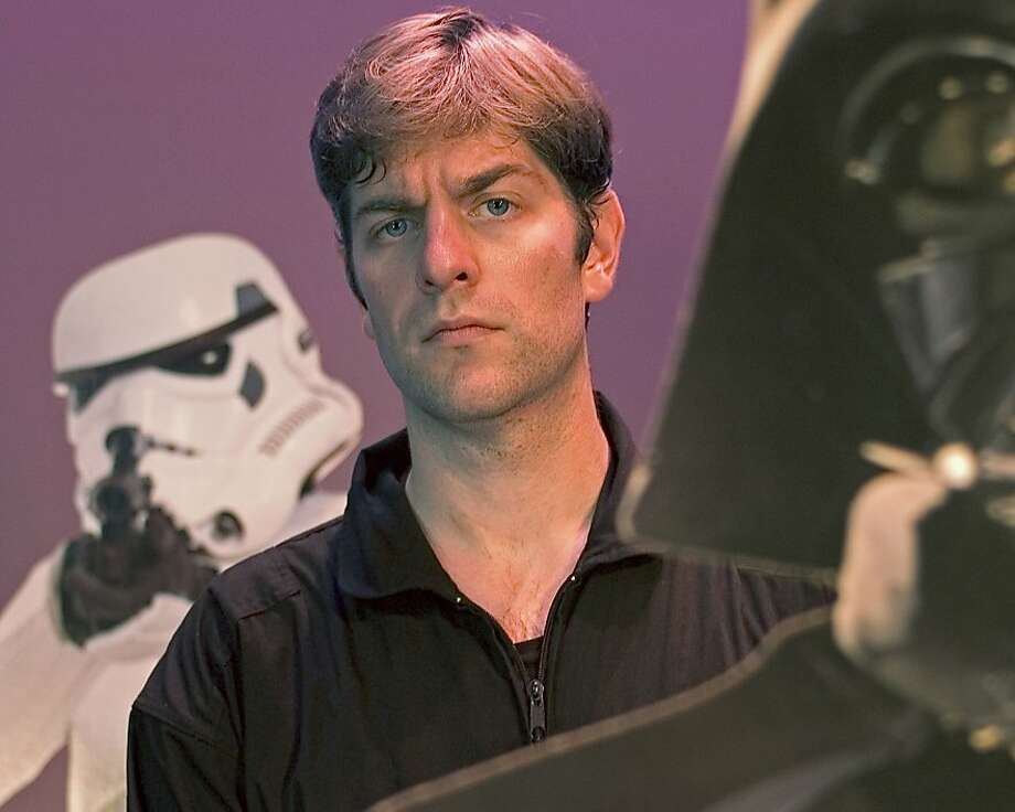 """Canadian actor Charles Ross stars in """"One Man Star Wars Trilogy"""" Sept. 25-Oct. 12, 2008, at the Post Street Theatre. Photo: Courtesy Charles Ross"""