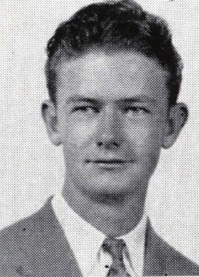 Edward O'Toole, as pictured in the Commerce Bulldog Record, Fall 1940. Photo: SF Public Library