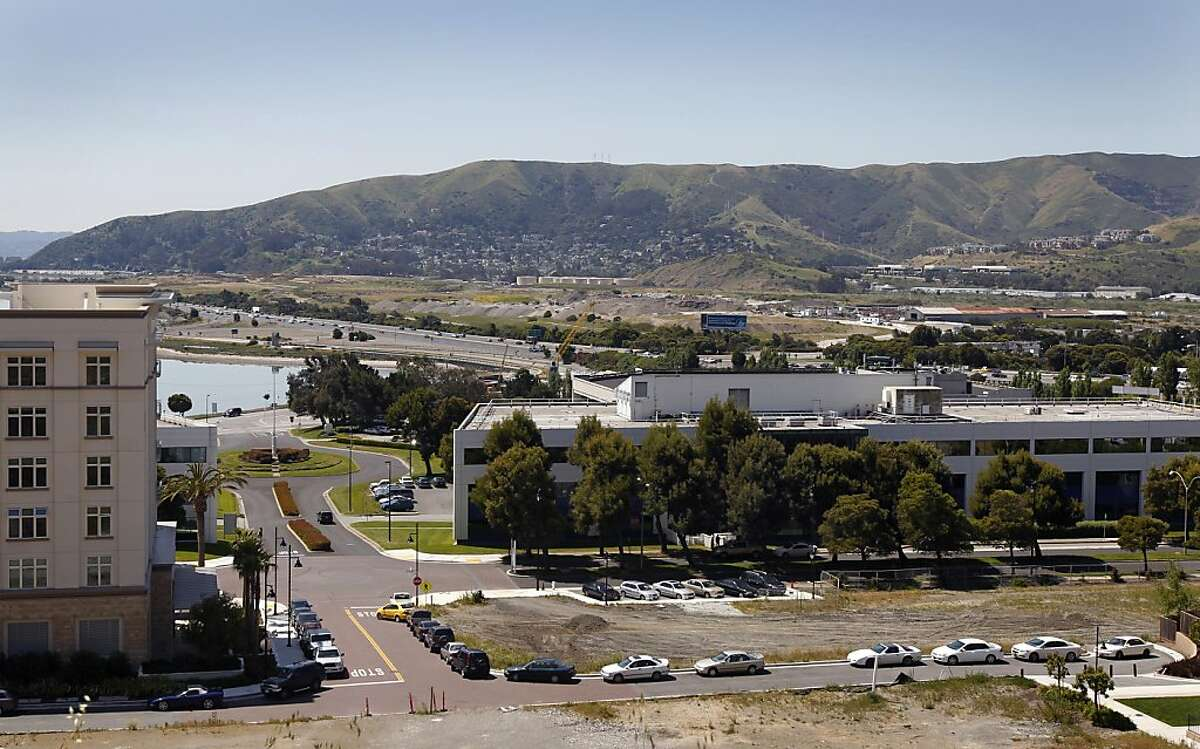 The Executive Park business complex is seen near Candlestick Park in San Francisco, Calif. on Wednesday, May 4, 2011. The Planning Commission is set to vote on a plan to build a much larger complex on the site.