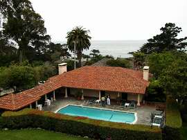 The view from La Playa Hotel and Cottages-by-the Sea in Carmel