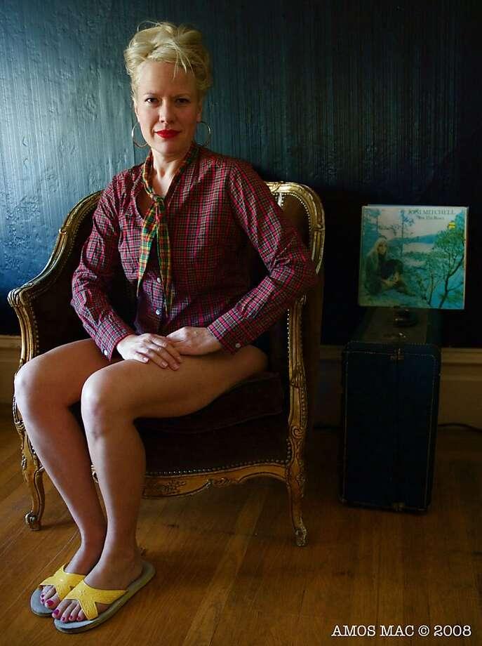 Tara Jepsen will emcee Cabaret Bastille as Gertrude Stein Photo: Amos Mac
