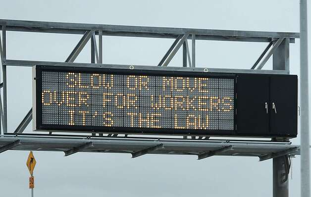 Drivers Urged To Slow Down Move Over For Workers Sfgate