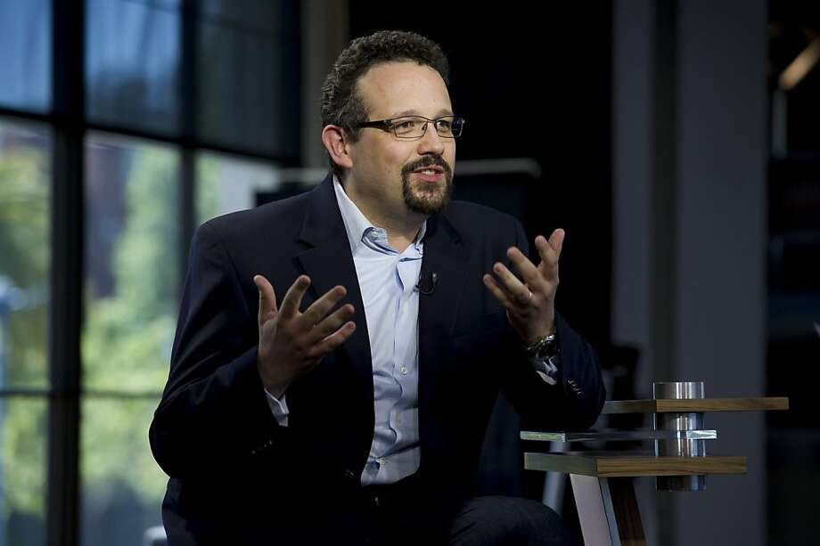"Phil Libin, chief executive officer of Evernote Corp., speaks during a Bloomberg West television interview in San Francisco, California, U.S., on Tuesday, June 21, 2011. Libin said that an initial public offering for Evernote Corp., which lets users store their notes, documents, images and other content in cloud computing, is probable at ""some point."" Photographer: David Paul Morris/Bloomberg *** Local Caption *** Phil Libin Photo: David Paul Morris, Bloomberg"