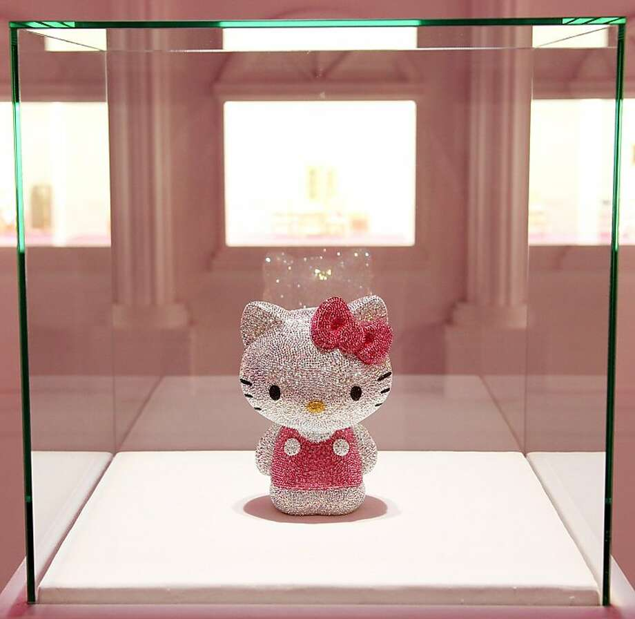 Deals with luxury crystal maker Swarovski and other companies, including Wal-Mart Stores, helped Hello Kitty character brand owner Sanrio more than double operating profit since 2009. The company is looking to acquire the rights to another character that will complement the ubiquitous cat character. Illustrates HELLOKITTY (category f), by Naoko Fujimura and Emi Urabe (c) 2011, Bloomberg News. Moved Tuesday, July 12, 2011. (MUST CREDIT: Bloomberg News photo by Junko Kimura.) Photo: Kimura, BLOOMBERG