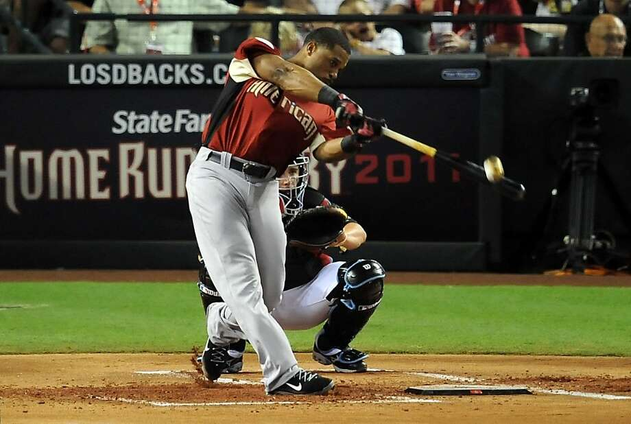 PHOENIX, AZ - JULY 11:  American League All-Star Robinson Cano #24 of the New York Yankees participates in the second round of the 2011 State Farm Home Run Derby at Chase Field on July 11, 2011 in Phoenix, Arizona. Photo: Norm Hall, Getty Images