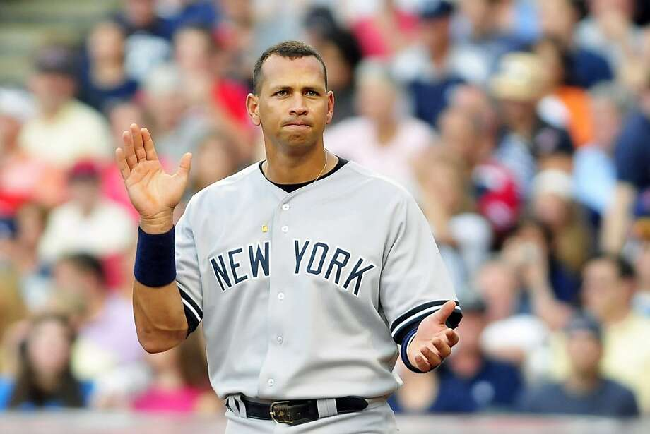 CLEVELAND, OH - FILE: Alex Rodriguez #13 of the New York Yankees reacts after the end of the second inning against the Cleveland Indians at Progressive Field on July 6, 2011 in Cleveland, Ohio. It was reported that Yankees 3B Alex Rodriguez is to undergoknee surgery, and is expected to miss 4-6 weeks. Photo: Jason Miller, Getty Images