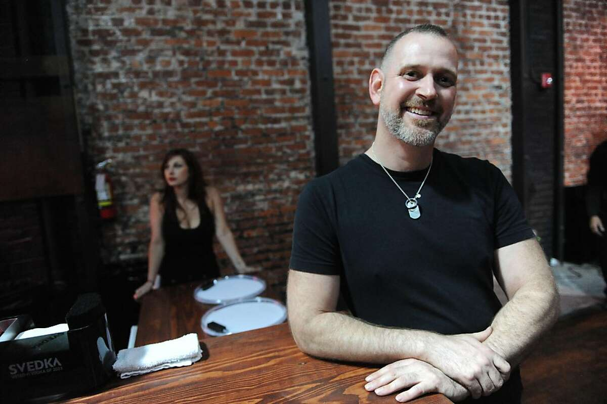 Andy Zivic, owner of Beatbox - a new club that has just opened in San Francisco, poses for a photo on June 24, 2011. New businesses experience delays when applying for alcohol permits and it sometimes takes up to six months.