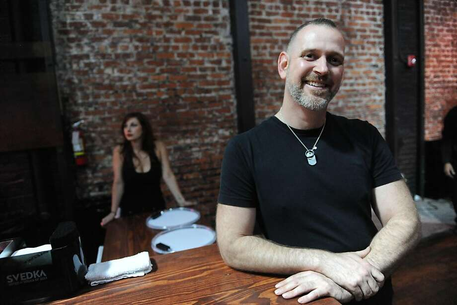 Andy Zivic, owner of Beatbox - a new club that has just opened in San Francisco, poses for a photo on June 24, 2011. New businesses experience delays when applying for alcohol permits and it sometimes takes up to six months. Photo: Susana Bates, Special To The Chronicle