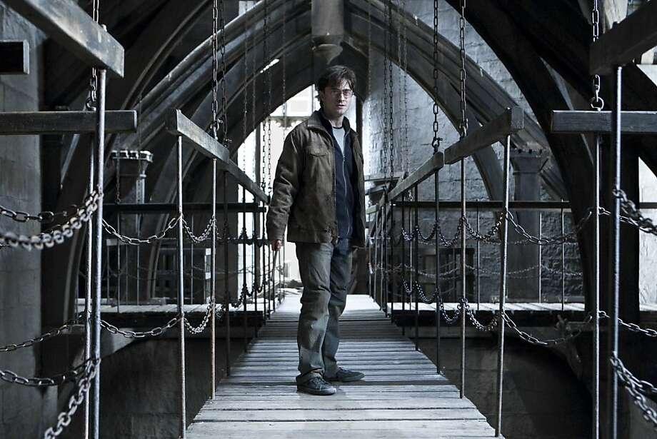 "DANIEL RADCLIFFE as Harry Pottery in Warner Bros. Pictures' fantasy adventure ""HARRY POTTER AND THE DEATHLY HALLOWS - PART 2,"" Photo: Jaap Buitendijk, Warner Bros."