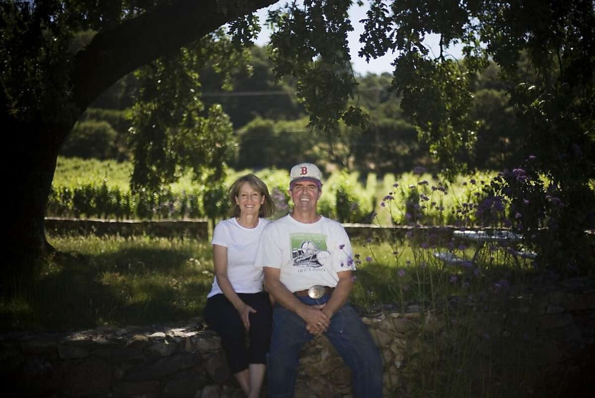 Joe and Gail Judge were part of a new wave of Bennett Valley growers who decided to focus on Rhone varieties like Syrah and Grenache.