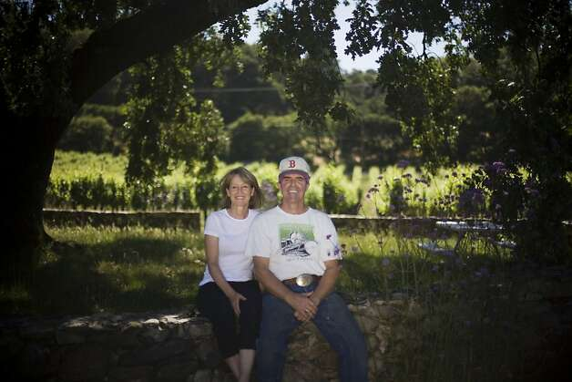Joe and Gail Judge were part of a new wave of Bennett Valley growers who decided to focus on Rhone varieties like Syrah and Grenache. Photo: Brian L. Frank, Special To The Chronicle