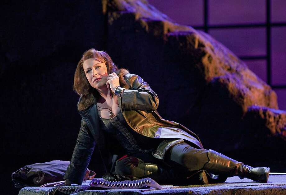 "Nina Stemme (BrŸnnhilde) appears in a scene from, ""Siegfried,"" part of the SF Opera's presentation of the The Ring of Nibelung.  Ran on: 07-10-2011 Soprano Nina Stemme plays Brünnhilde in San Francisco Opera's recent production of &quo;Siegfried,&quo; the third installment in Richard Wagner's epic &quo;Ring&quo; cycle. Ran on: 07-10-2011 Photo caption Dummy text goes here. Dummy text goes here. Dummy text goes here. Dummy text goes here. Dummy text goes here. Dummy text goes here. Dummy text goes here. Dummy text goes here.###Photo: kosman10_ph11306281600SFC###Live Caption:Nina Stemme (BrŸnnhilde) appears in a scene from, ""Siegfried,"" part of the SF Opera's presentation of the The Ring of Nibelung.###Caption History:Nina Stemme (Br Ran on: 07-10-2011 Photo caption Dummy text goes here. Dummy text goes here. Dummy text goes here. Dummy text goes here. Dummy text goes here. Dummy text goes here. Dummy text goes here. Dummy text goes here.###Photo: kosman10_ph11306281600SFC###Live Caption:Nina Stemme (BrŸnnhilde) appears in a scene from, ""Siegfried,"" part of the SF Opera's presentation of the The Ring of Nibelung.###Caption History:Nina Stemme (Br Photo: Cory Weaver, SF Opera"