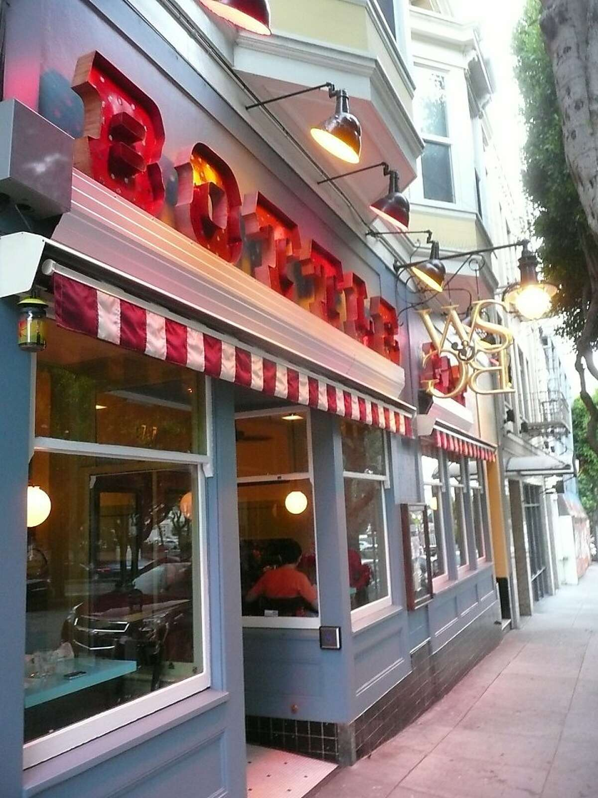North Beach's Bottle Cap offers classic cocktails and American dishes such as a flat iron steak and composed heirloom tomato salad.