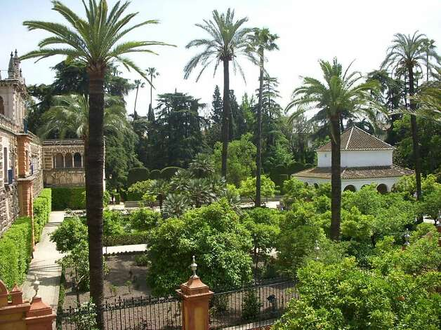 14th century gardens such as Sevilla's Royal Gardens Photo: Christy Edstrom O'Hara