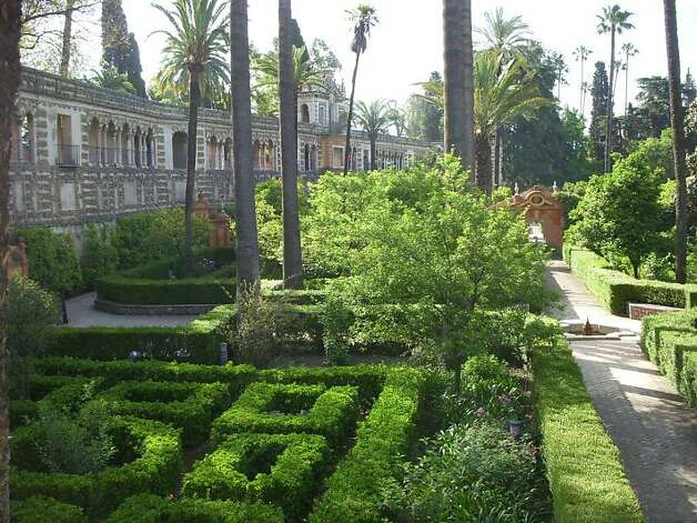 14th century gardens such as Sevilla's Royal Gardens (Alcazar) Photo: Christy Edstrom O'Hara
