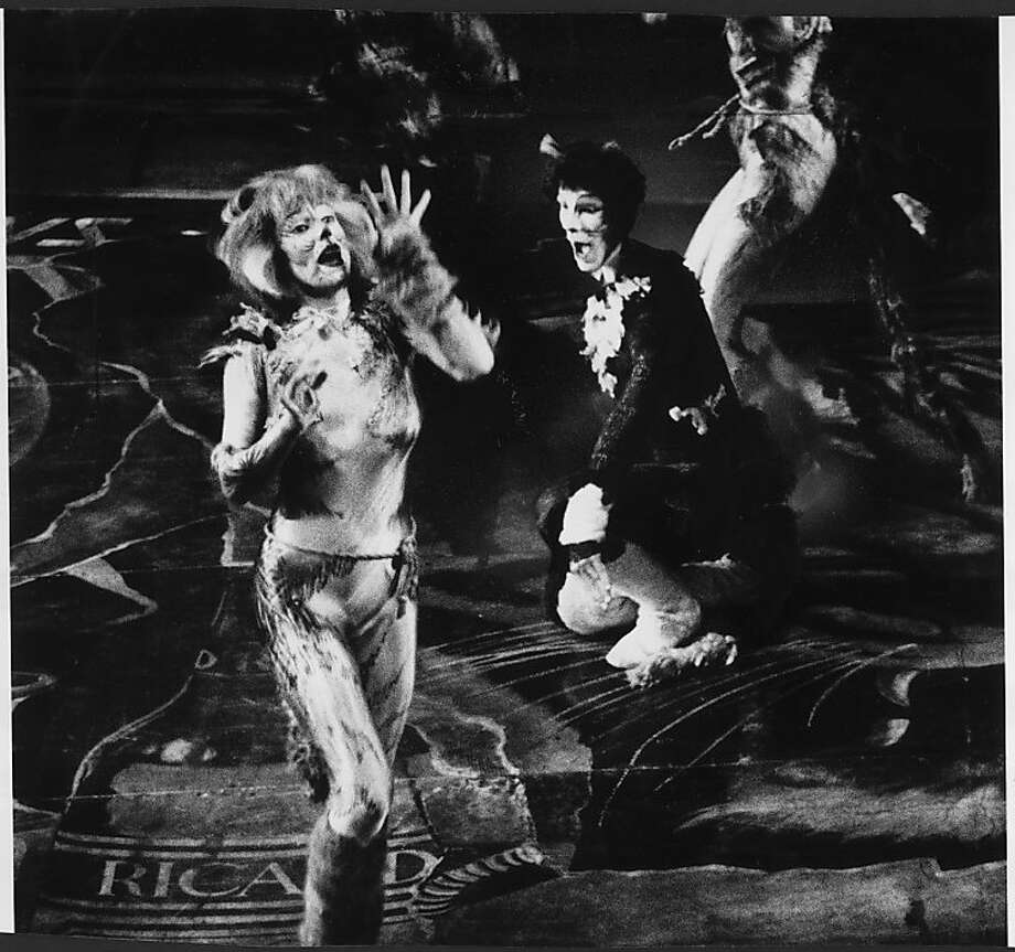 """The Andrew Lloyd Weber musical """"Cats"""" set theatrical records when it opened at the Golden Gate Theatre in San Francisco in 1986.  Photo was taken 07/10/1986. Photo: Jerry Telfer, The Chronicle"""