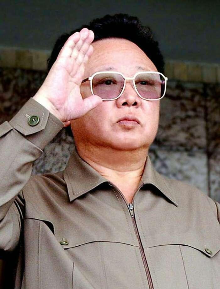 north korea s kim jong il viewed a soccer match sfgate
