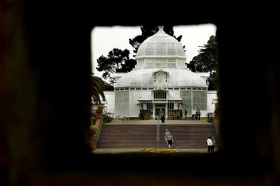 The Conservatory of Flowers in Golden Gate Park  in San Francisco, Ca. on Thursday July 7, 2011. A measure for the November ballot in San Francisco if approved, would prevent the city from renting out additional club houses or charging admission to additional attractions. Although the Conservatory of Flowers wouldn't be affected by the measure it is an example of the type of program that could be affected in the future. Photo: Michael Macor, The Chronicle