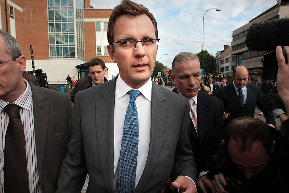 LONDON, ENGLAND - JULY 08:  Andy Coulson, former editor of the News of The World newspaper, leaves Lewisham Police station on July 8, 2011 in London, England. Mr Coulson was arrested by police investigating phone hacking.  (Photo by Peter Macdiarmid/Getty Images)  *** BESTPIX *** Photo: Peter Macdiarmid, Getty Images