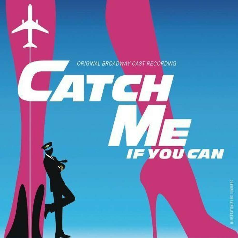 """CD cover for the original Broadway cast recording of """"Catch Me If You Can."""" Photo: Ghostlight Records"""