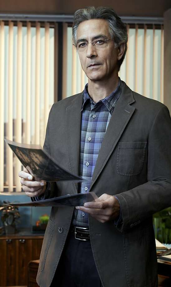 "David Strathairn plays a neurologist on the Syfy's new series, ""Alphas,"" premiering on July 11. (Justin Stephens/SyFy/MCT) Photo: Justin Stephens"