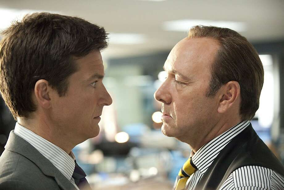 Kevin Spacey (right) plays Jason Bateman's awful boss in the recent film 'Horrible Bosses.' He is joined by Jennifer Aniston and Colin Farrell as a trio of terrible managers.  Photo: John P. Johnson, AP